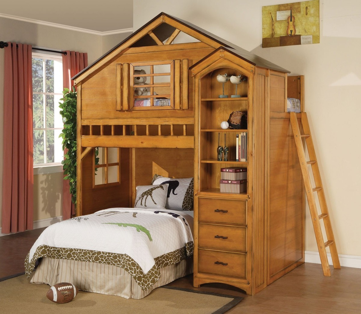 Tree House Loft Bed Web Home Furnishings 174