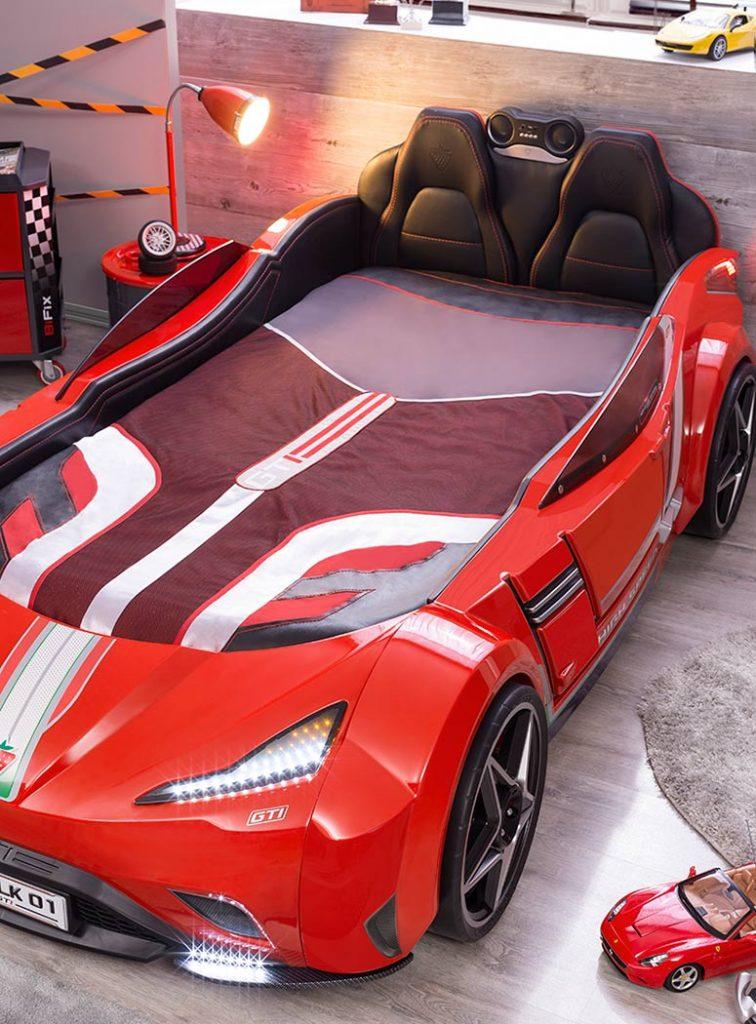 Champion Gti Racer Kids Bedroom Car Bed Web Home