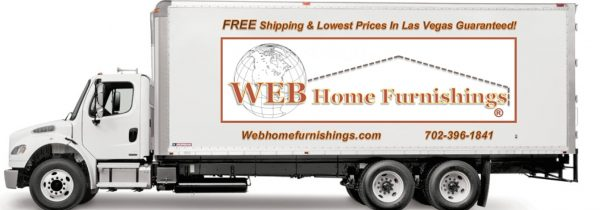 web home furnishings delivery truck